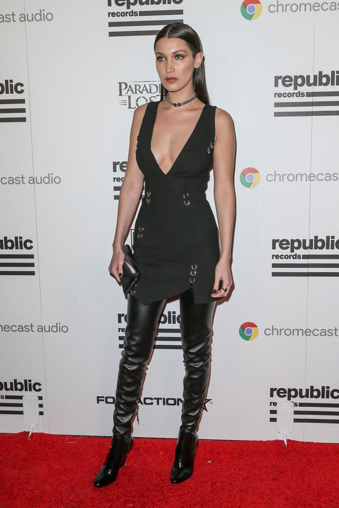 Bella Hadid 2016 Grammy Awards
