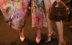 Blumarine Fall 2016 Shoes On The