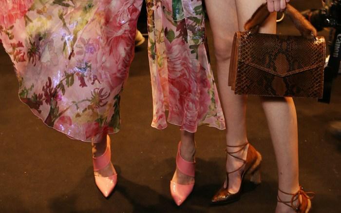 Blumarine Fall 2016 Shoes On The Runway