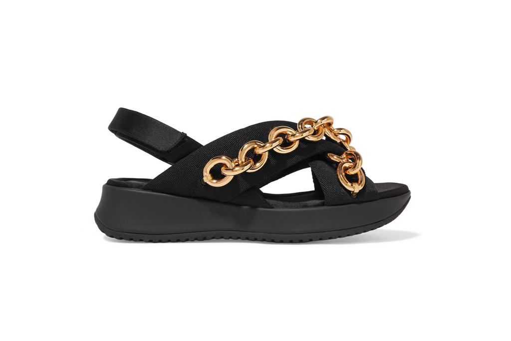 Burberry Chain Sandals Net-a-Porter