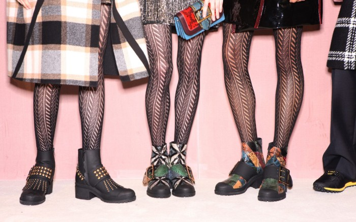 Burberry Fall 2016 Shoes On The Runway