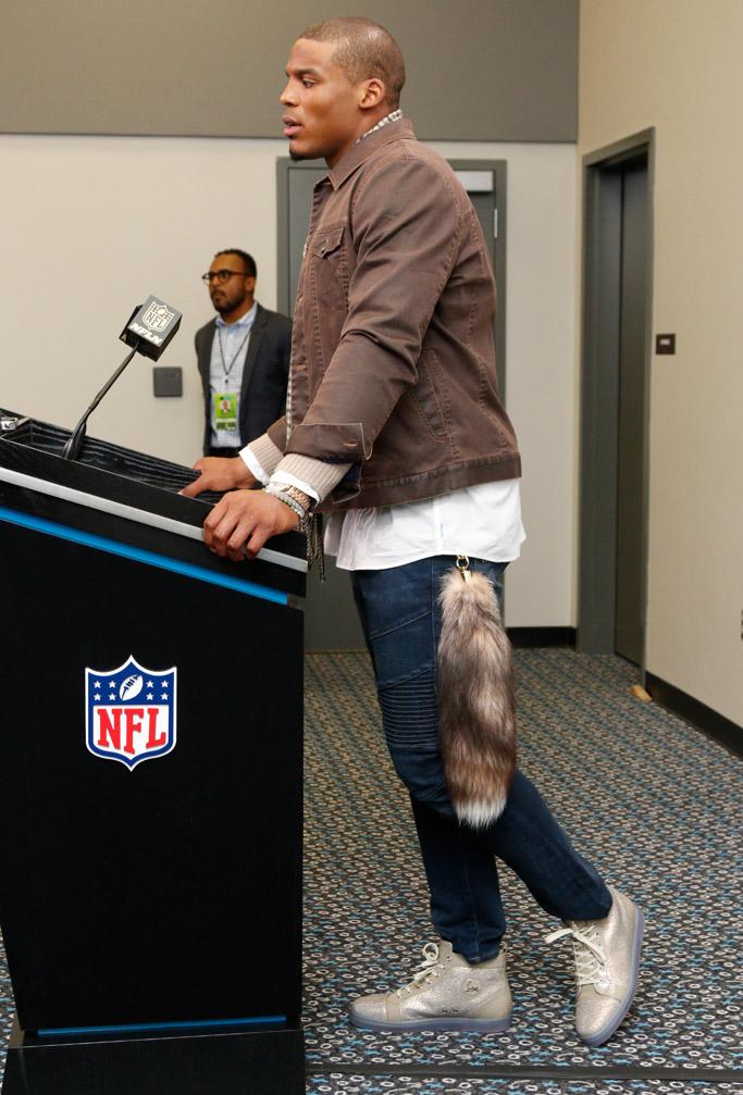 Cam Newton Shoe Style