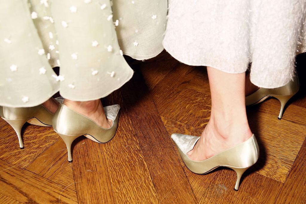 Carolina Herrera Fall 2016 Manolo Blahnik Shoes