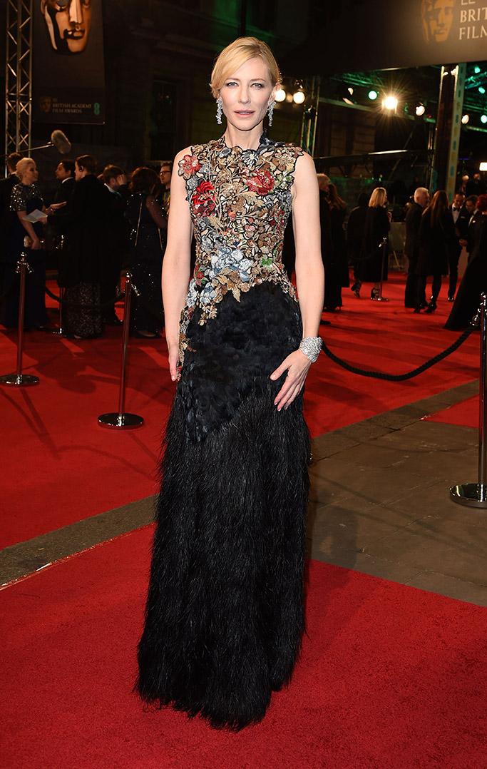 Cate Blanchett 2016 BAFTA Film Awards
