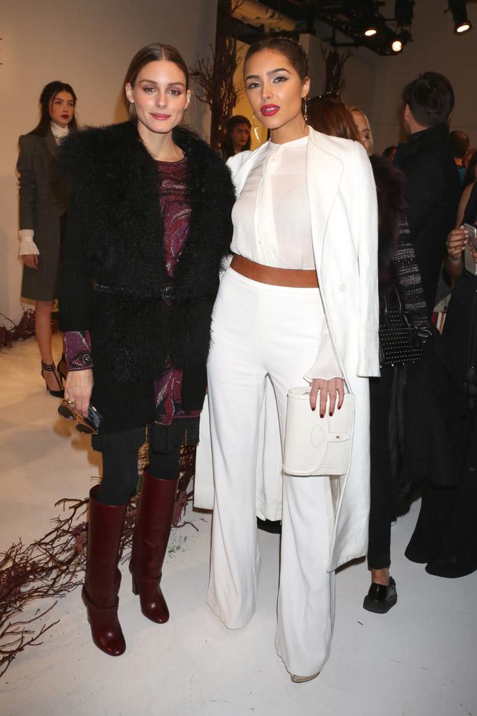 Front Row at Rachel Zoe Fall 2016 New York Fashion Week