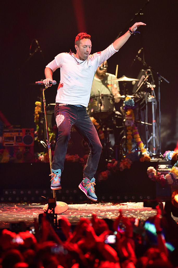 Chris Martin Coldplay Sneakers Style