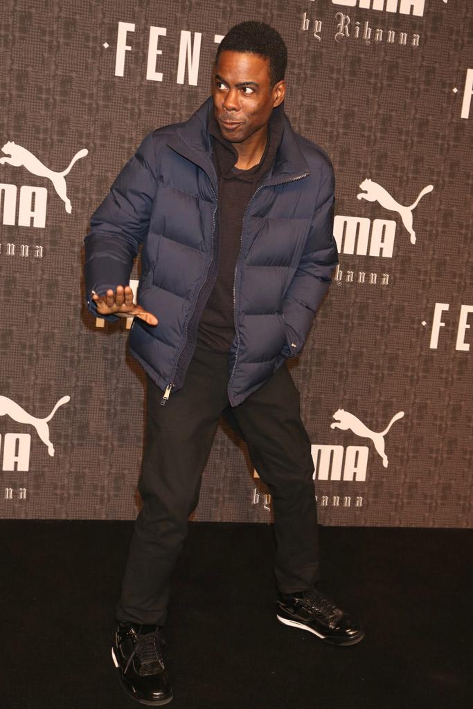 Chris Rock Oscars Host Shoes Style