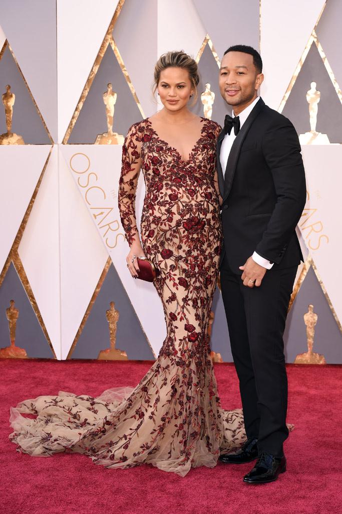 Chrissy Teigen John Legend 2016 Oscars