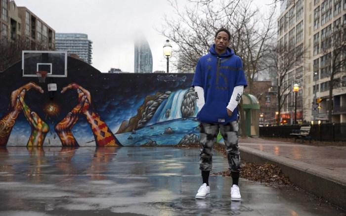 DeMar DeRozan Toronto Raptors Spring 2016 Nike Air collection