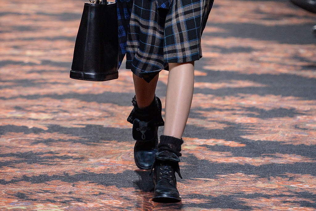 Etro Fall 2016 Shoes On The Runway