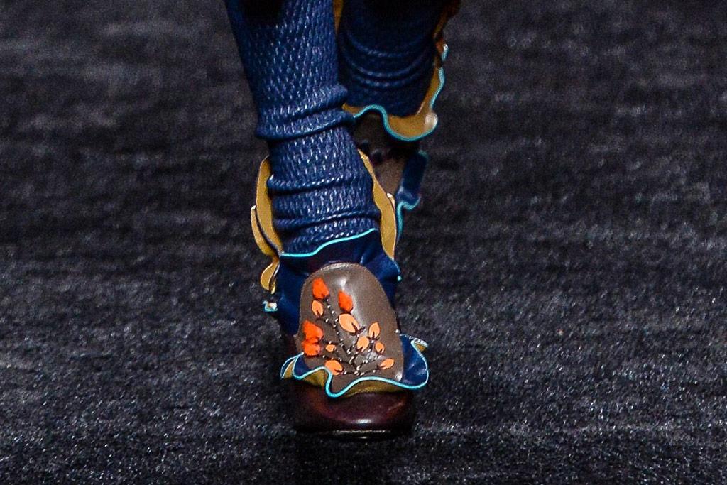 Fendi Fall 2016 Shoes On The Runway