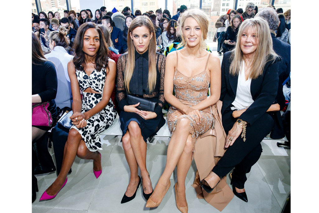 Front Row Michael Kors Blake Lively