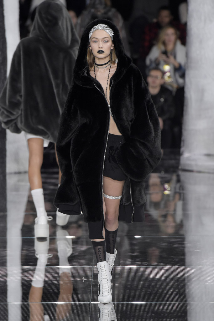 Gigi Hadid at New York Fashion Week Fall '16