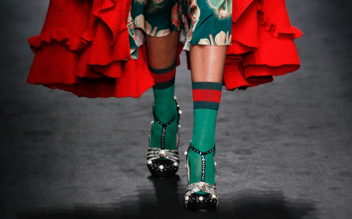 Gucci Fall 2016 Shoes On The Runway