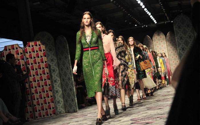 Gucci Spring 2016 at Milan Fashion Week
