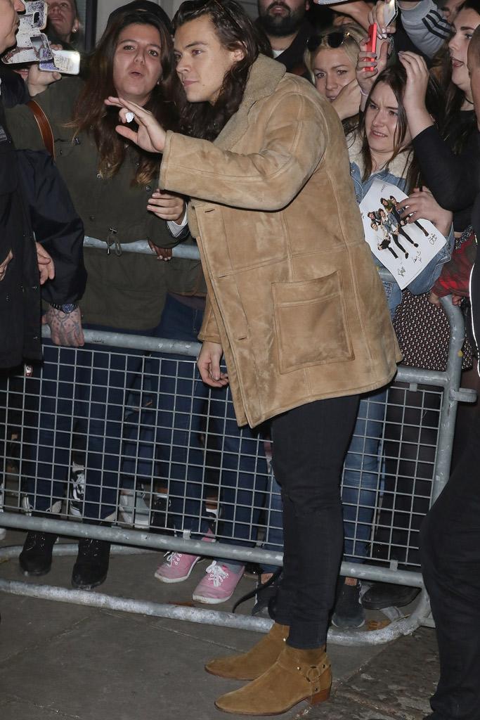 Harry Styles Saint Laurent Boots