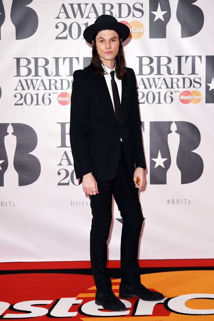 James Bay 2016 Brit Awards