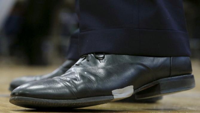 Jeb Bush Shoes Duct Tape