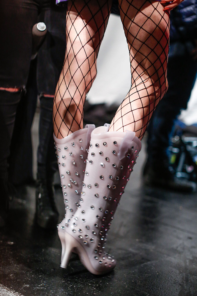 Jeremy Scott Fall 2016 Shoes On The Runway