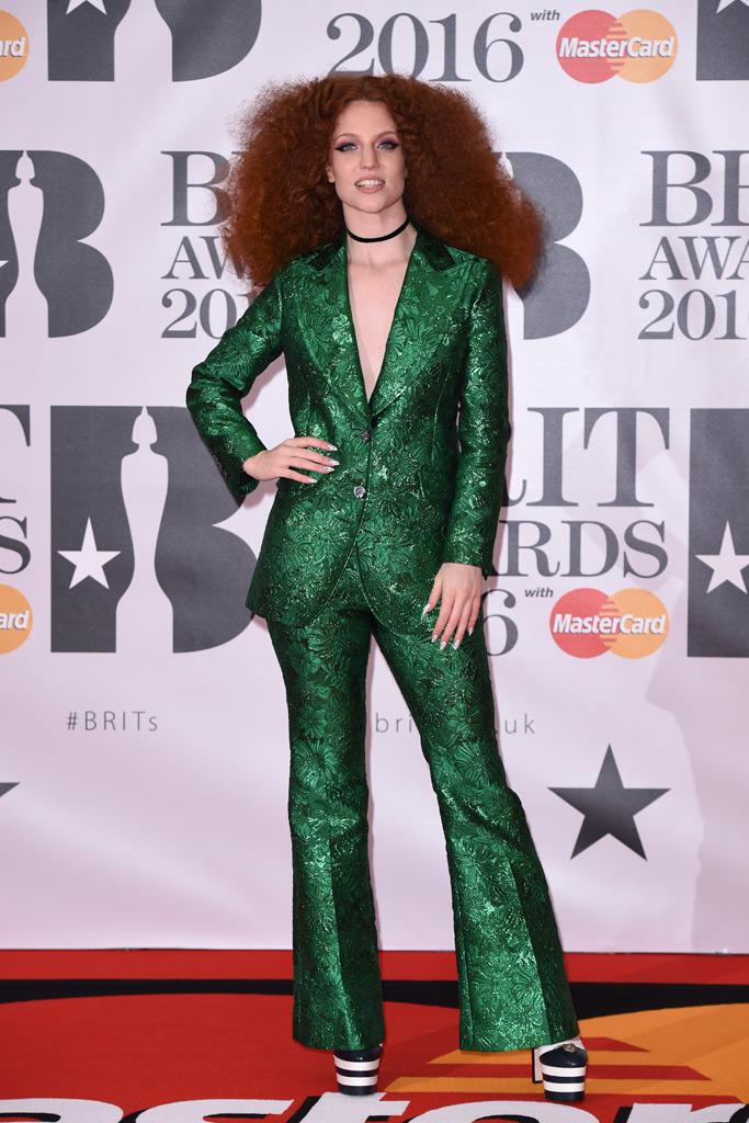 Jess Glynne 2016 Brit Awards