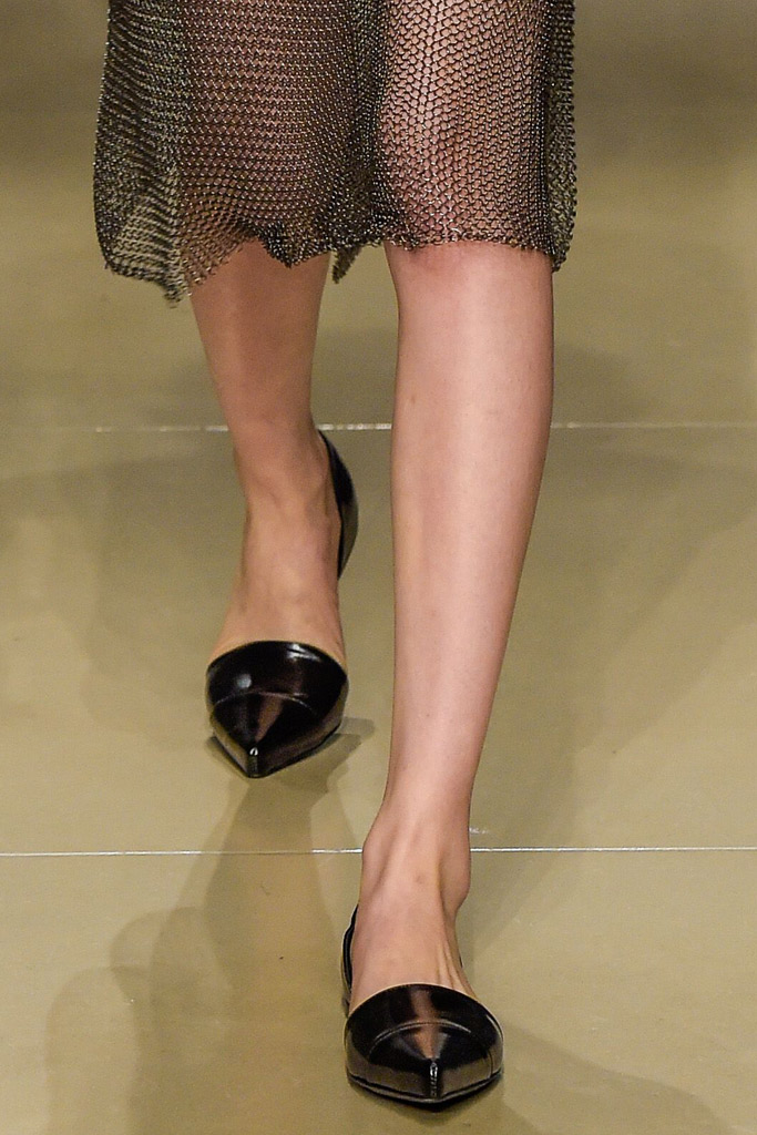Jil Sander Fall 2016 Shoes On The Runway