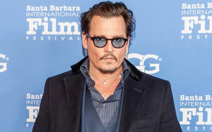 Johnny Depp Santa Barbara Film Festival