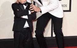 Jaxon Bieber & Justin Bieber