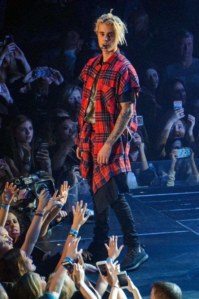 Justin Bieber Yeezys