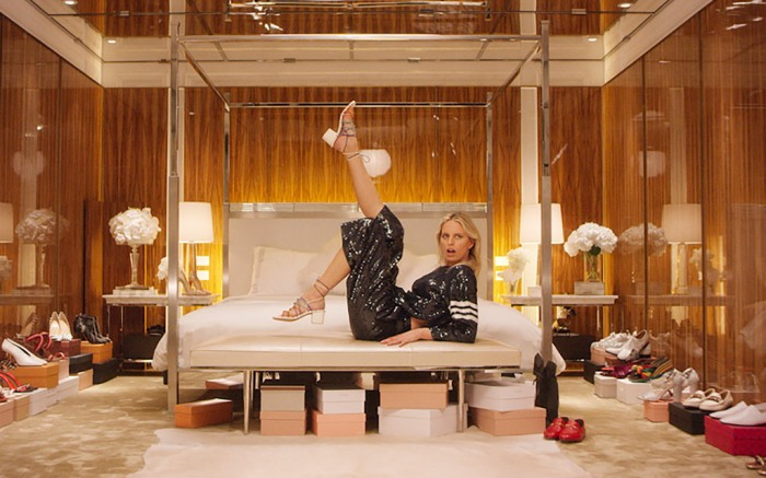 Karolina Kurkova Net-a-Porter Shoes