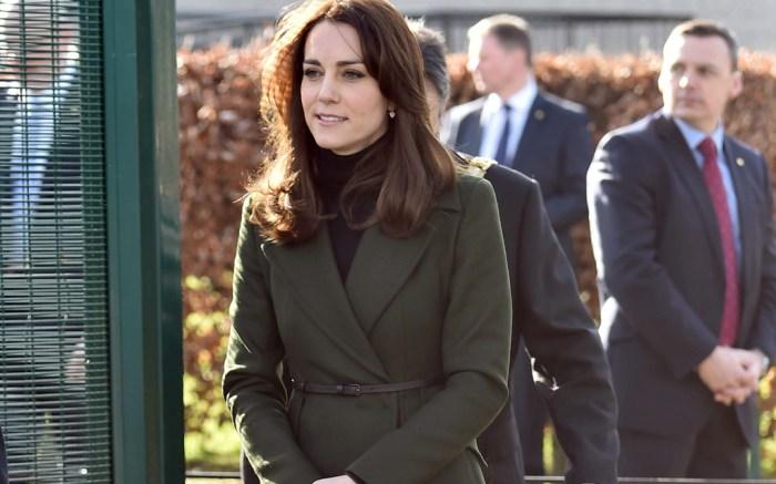 The Duchess of Cambridge visits Edinburgh, Scotland, Britain – 24 Feb 2016