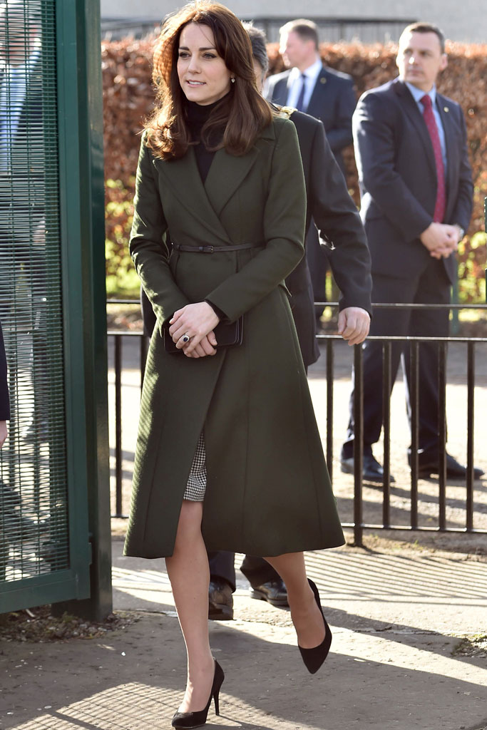 Kate Middleton was in Scotland today to promote mental health.