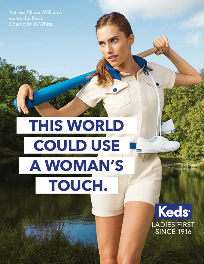 Allison Williams Keds Ad Campaign