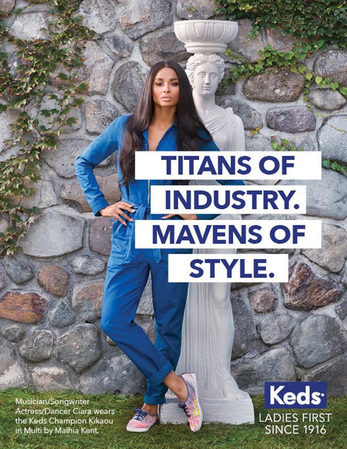 Ciara Keds Ad Campaign