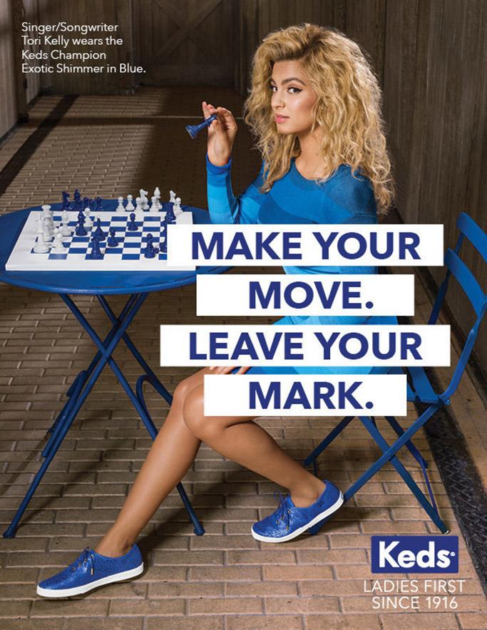 Tori Kelly Keds Ad Campaign