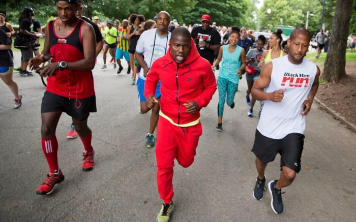 Kevin Hart Nike Flyknit 5K Run