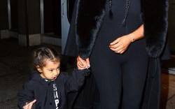 North West & Kim Kardashian West