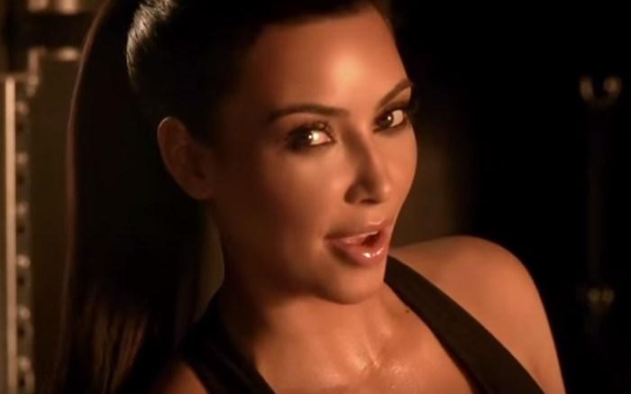 Kim Kardashian 2011 Super Bowl Skechers Ad