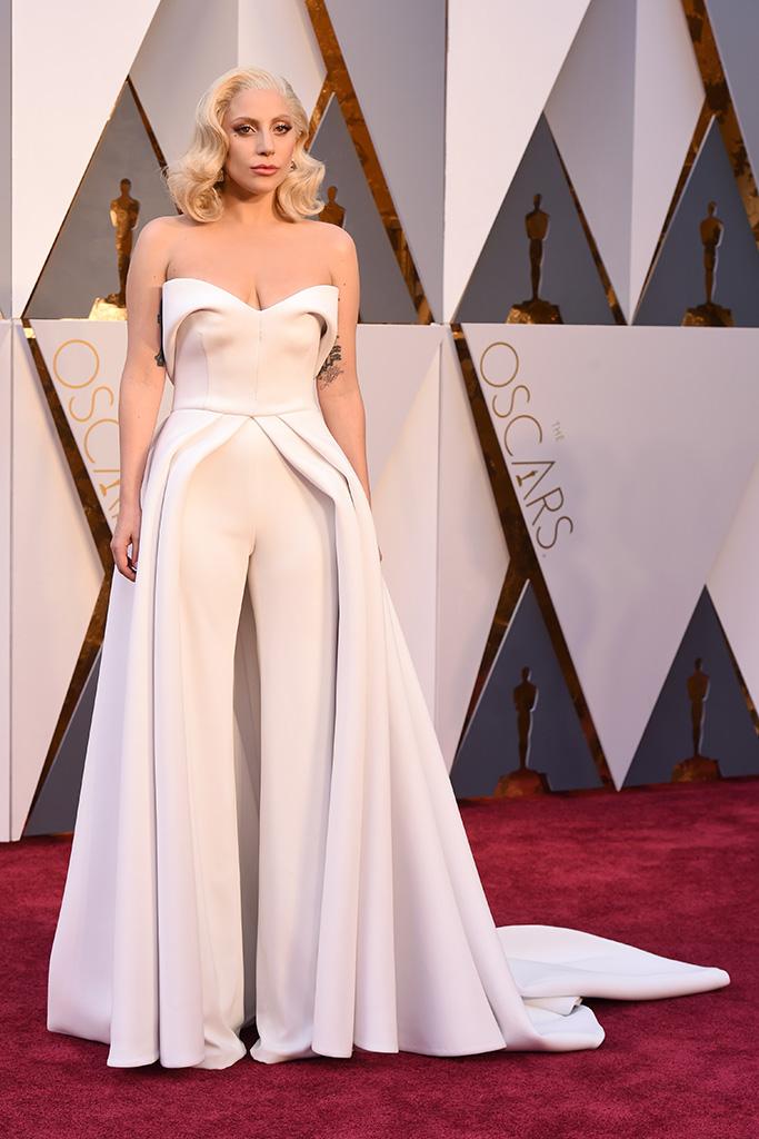 Lady Gaga 2016 Oscars