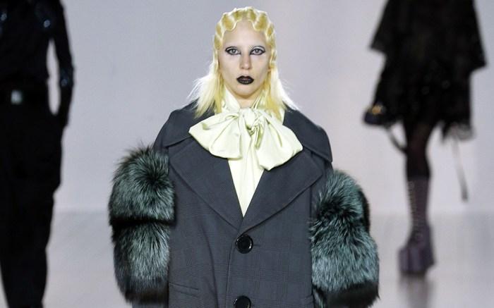 Lady Gaga Marc Jacobs Fall 2016 Show New York Fashion Week