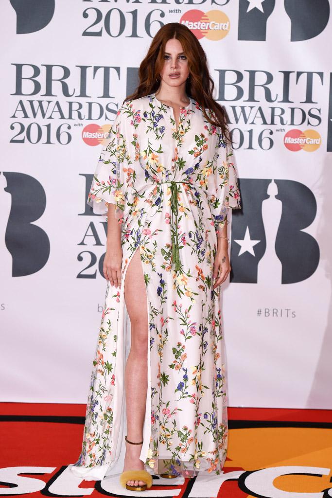 Lana Del Rey 2016 Brit Awards