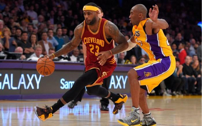 LeBron James Nike Kobe Bryant LeBron 12 Kobe X Elite