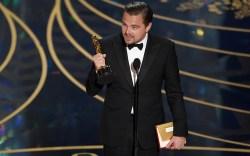 Leonardo DiCaprio Oscars 2016 Best Actor