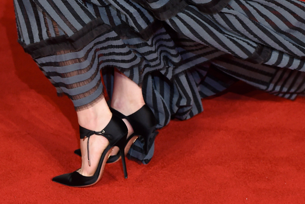Lily James Shoe Style