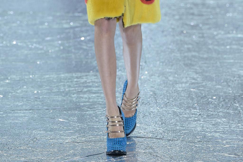 Mary Katrantzou Fall 2016 Shoes On The Runway