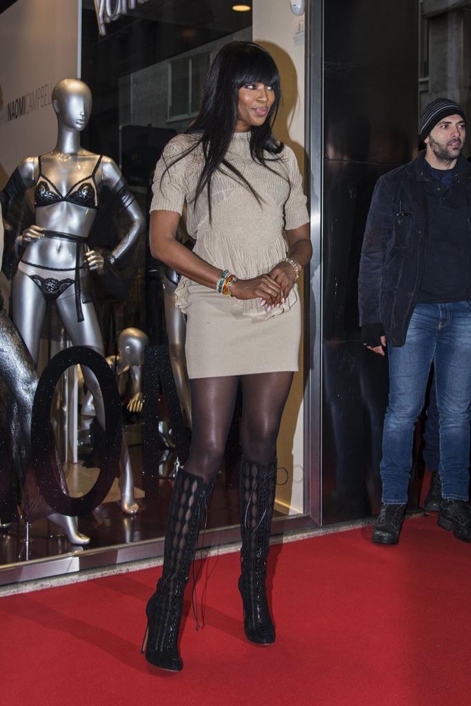 Naomi Campbell Yamamay Milan