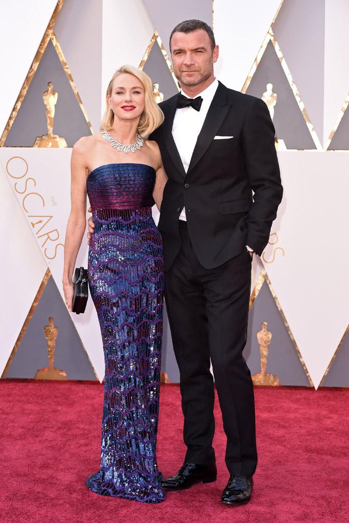 Naomi Watts Liev Schreiber 2016 Oscars