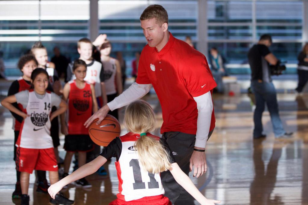 Rip City Academy Nike Portland Trail Blazers Mason Plumlee