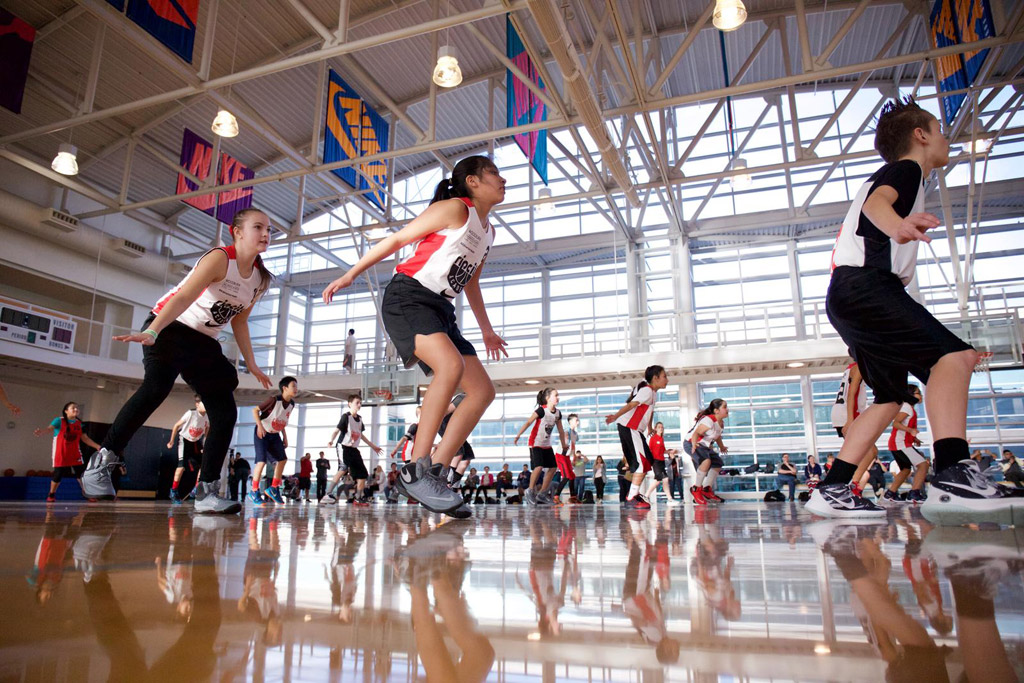 Nike World Headquarters Rip City Academy Portland Trail Blazers Basketball