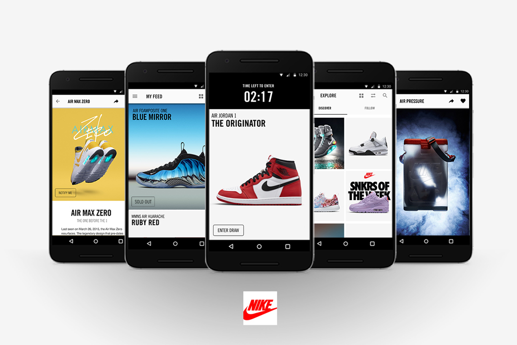 Nike Introduces Snkrs App For Android