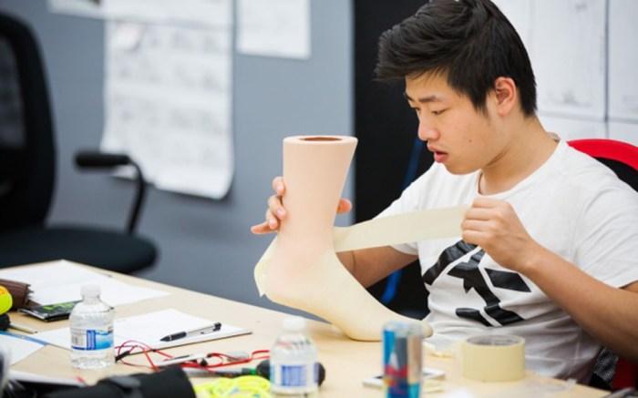 ensole Design Academy student